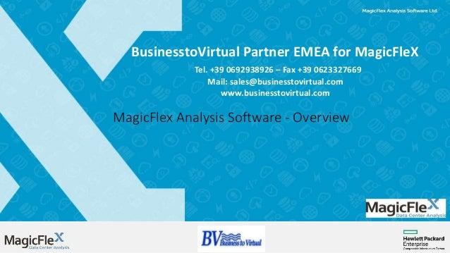 BusinesstoVirtual Partner EMEA for MagicFleX Tel. +39 0692938926 – Fax +39 0623327669 Mail: sales@businesstovirtual.com ww...
