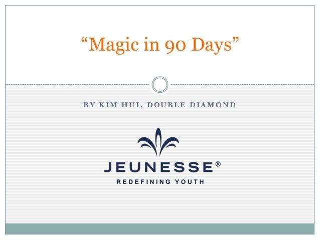 """Magic in 90 Days"" BY KIM HUI, DOUBLE DIAMOND"