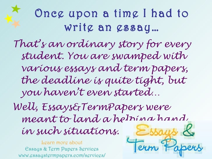 Magic essays