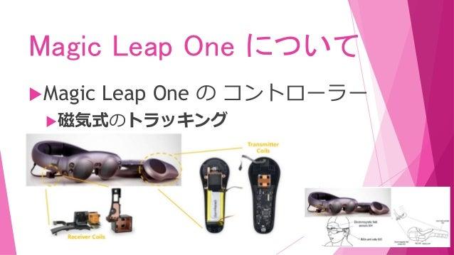 Magic Leap One について Magic Leap One の コントローラー 磁気式のトラッキング