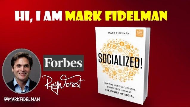 Hi, I am Mark Fidelman@MARKFIDELMAN