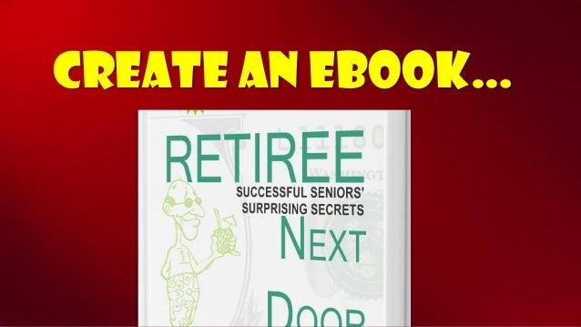 Create an ebook…