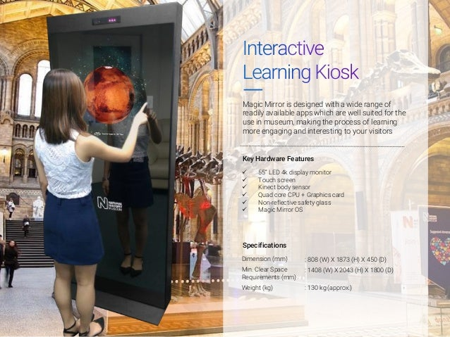 Magic Mirror for Museums Slide 2