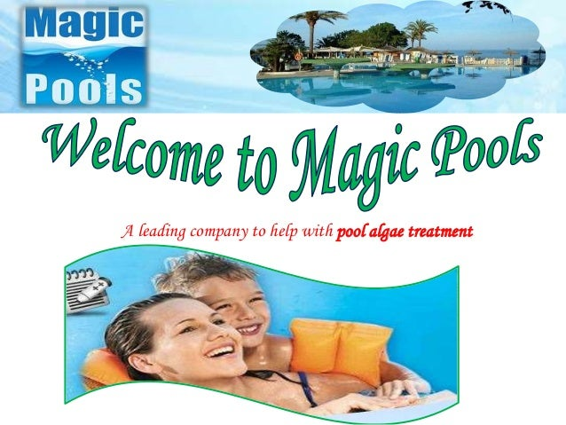 A leading company to help with pool algae treatment