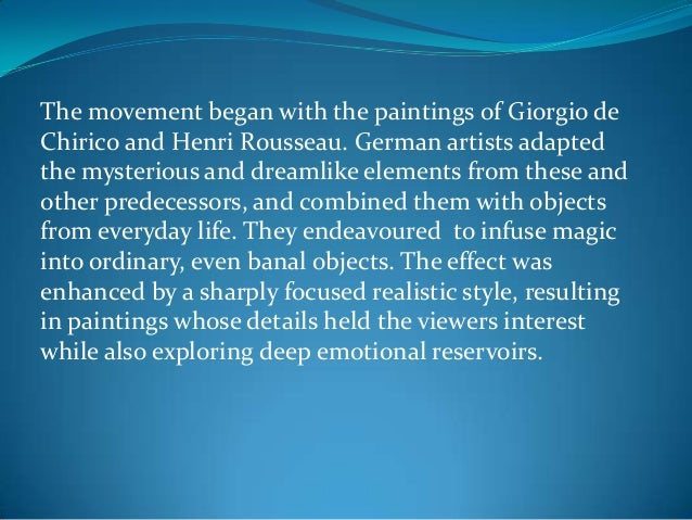 the use of magical realism in literature Magical realism has become well-known as a literary genre, but was a term used to categorize visual art as early as the 1920s in both the visual and literary arts, it refers to a style of expression that presents a realistic world that has elements of.