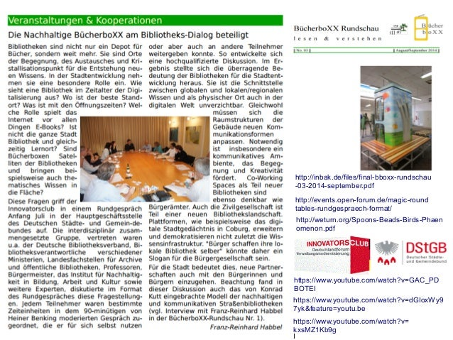 http://events.open-forum.de/magic-round tables-rundgespraech-format/ http://inbak.de/files/final-bboxx-rundschau -03-2014-...