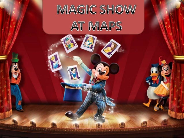 MAPS ORGANISED MAGIC SHOW