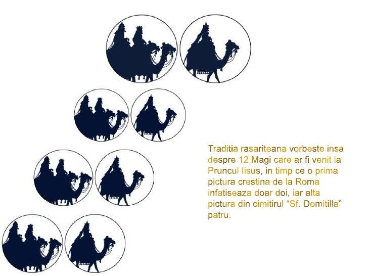 Traditiarasariteanavorbesteinsa despre 12 Magi care ar fi venit la Pruncul Iisus, in timp ce o prima pictura crestina de l...