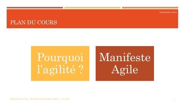 Le Manifeste Agile Slide 2