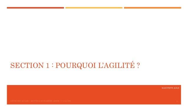 Le Manifeste Agile Slide 3