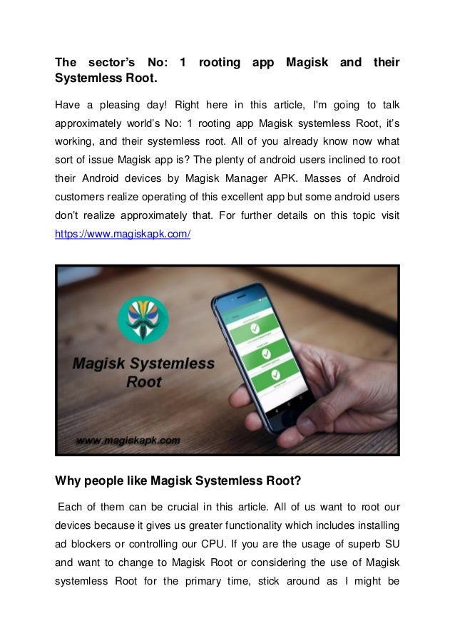Magisk APK Latest Download & How to Use Magisk