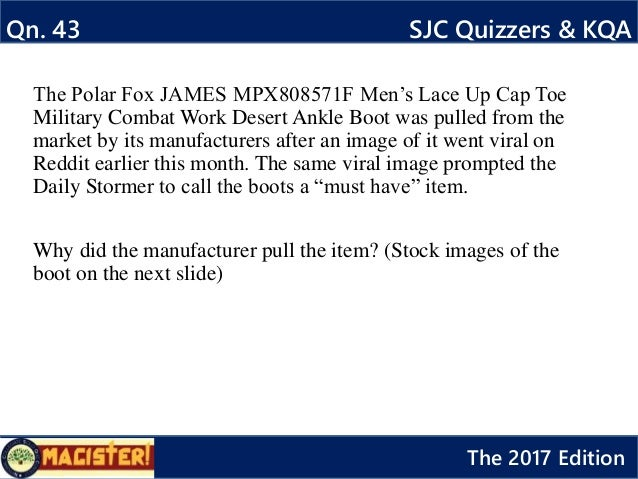 Magister 2017 questions only