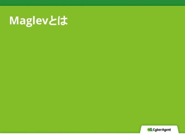 Maglevとは