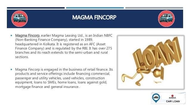 Magma Car Loan Schemes