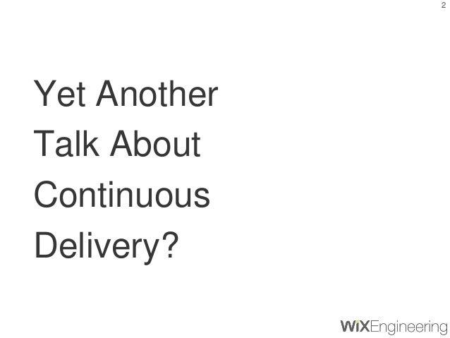 Values & Culture of Continuous Deliver Slide 2