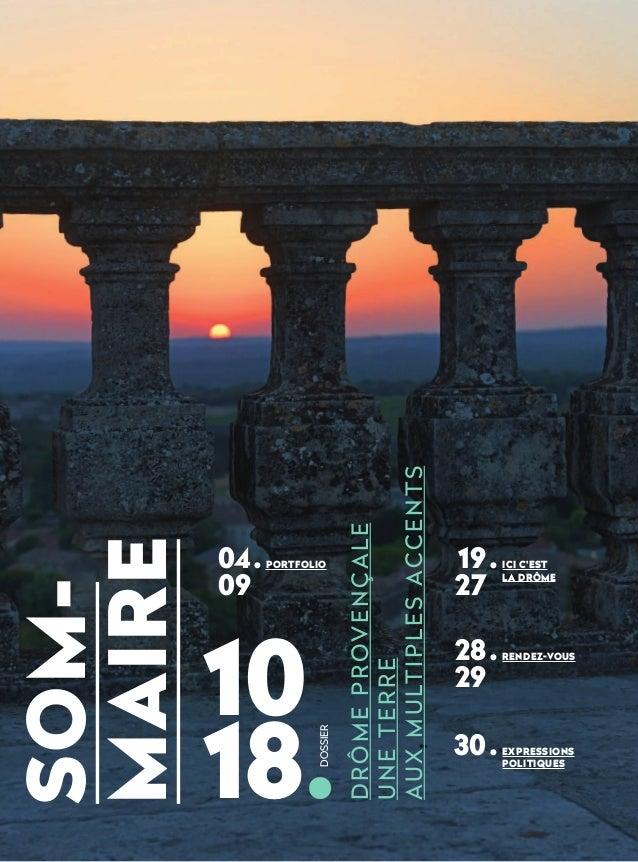 La Drôme – Le Magazine n°5 (octobre-décembre 2020) Slide 2