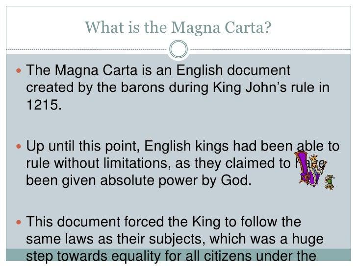 Magna carta ppt