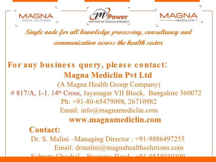 Magna Corporate Presentation
