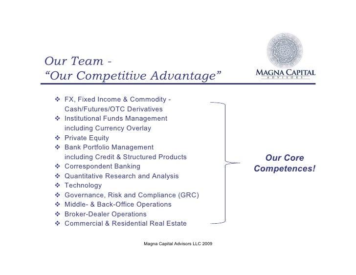 magna capital advisors brochure