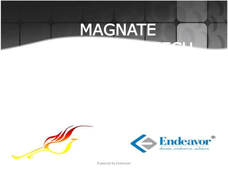 MAGNATETHE BIZ AND TECH      QUIZ     Powered by Endeavor