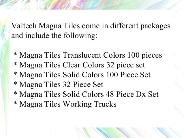 Magna Tiles Excellent Educational Toy Gift For Any Occasion