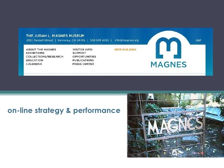 on-line strategy & performance