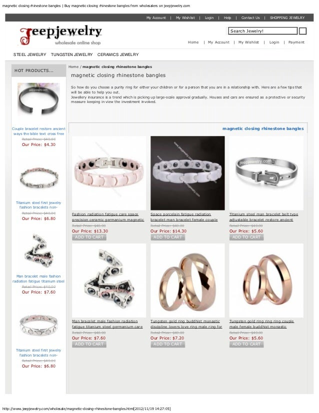 magnetic closing rhinestone bangles | Buy magnetic closing rhinestone bangles from wholesalers on jeepjewelry.com         ...