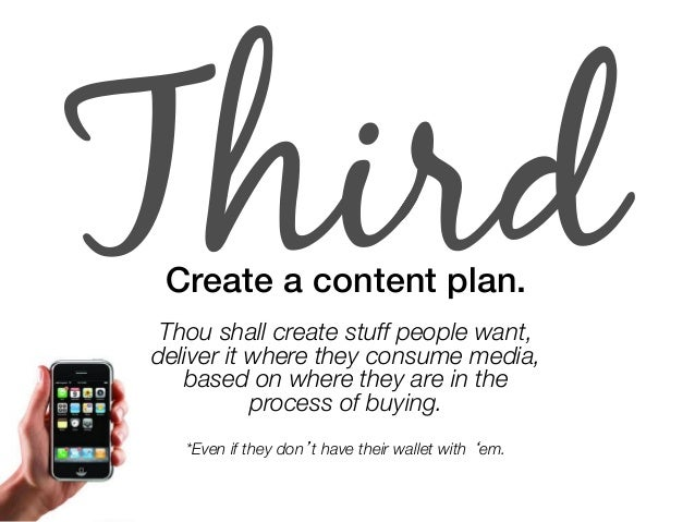 """Fourth Put a content creation team together.!  """"  Put your money where your media is.  Scrimping ain't smart."""