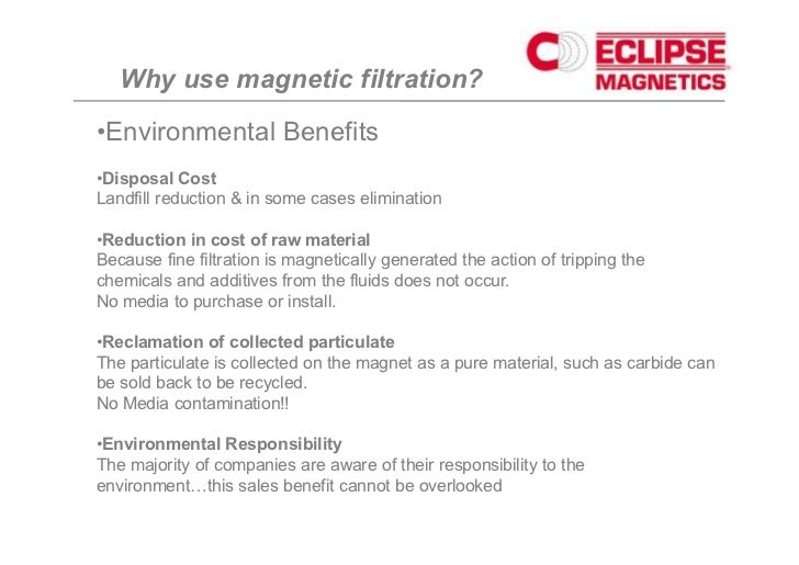 Magnetic filtration overview mvk