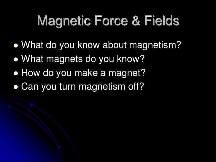 """Three Words That Could Overthrow Physics: """"What Is Magnetism?"""""""