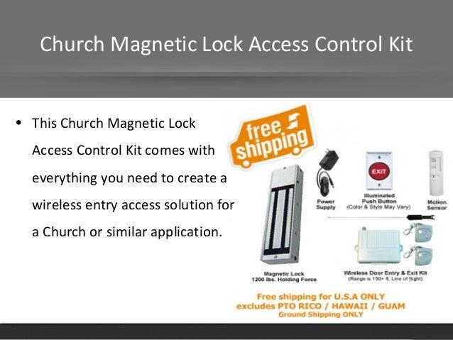 Magnetic Gate Locks For Door Magneticlocks Net