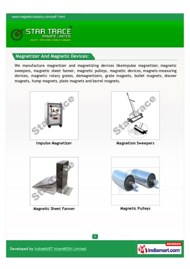 Star Trace Private Ltd Chennai Ferrite Magnets