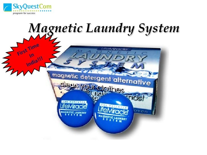Magnetic Laundry System First Time  In India!!!