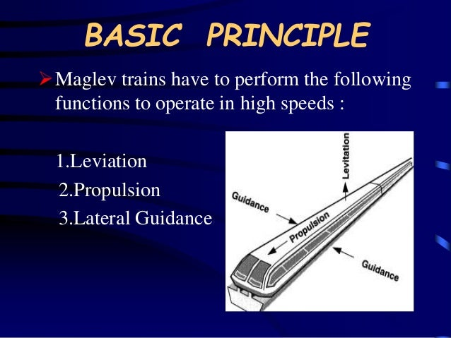 maglevs magnetic levitation essay Sample records for maglev test line  magnetic levitation  airlines can retain their familiar hub-and-spoke systems with maglevs an integral part of the spoke.