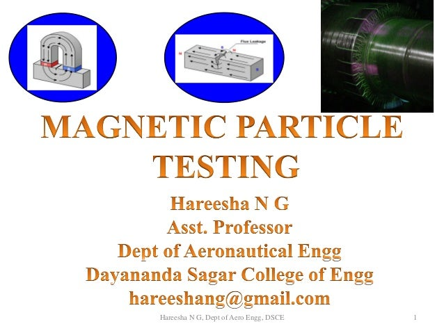 1Hareesha N G, Dept of Aero Engg, DSCE