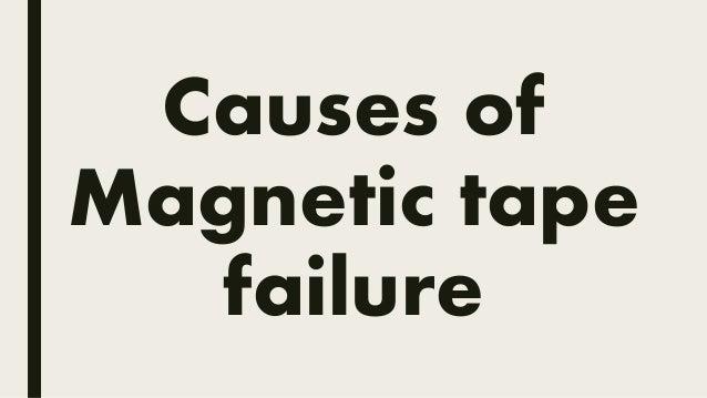 magnetic reel tape