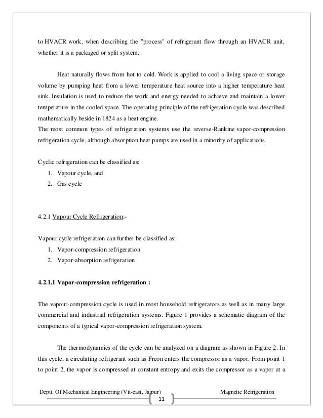 research paper on refrigeration pdf
