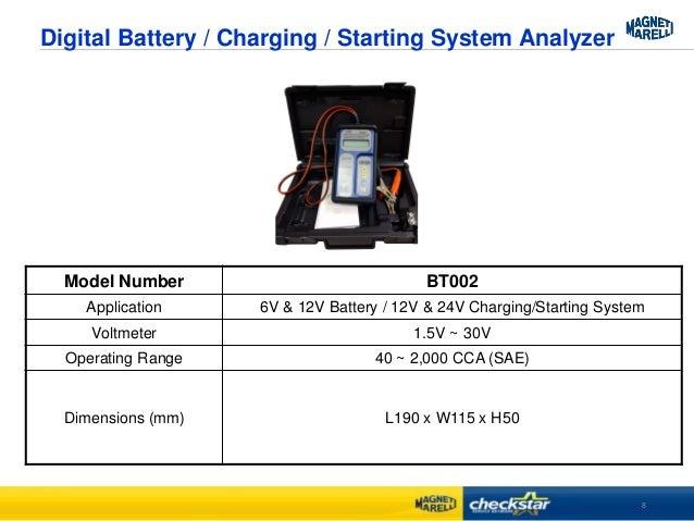 Dhc bt002 Battery Tester Manual