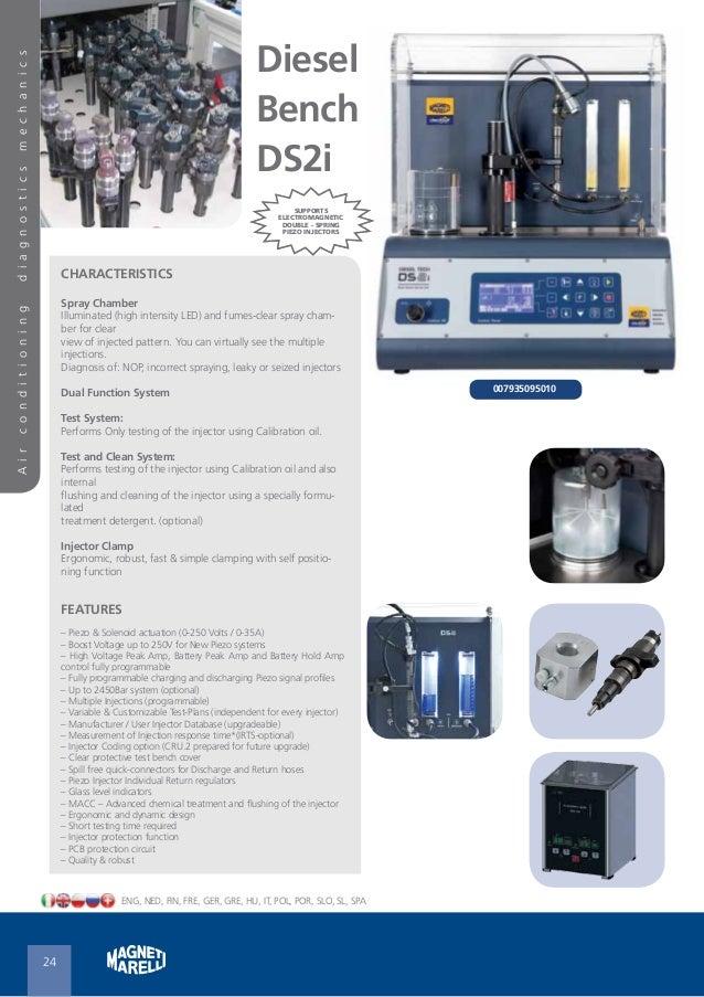 Magneti Marelli Diesel & Gasoline Injector Test Bench