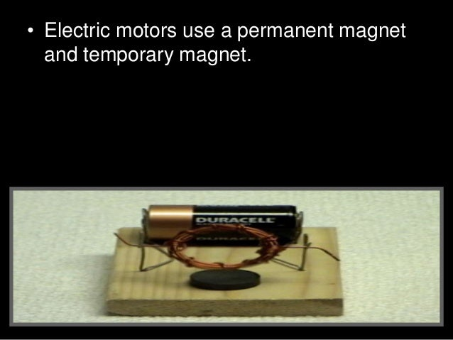 • Video Link and Directions. • How to make a simple electric motor • http://www.youtube.com/watch?v=ziWUmI UcR2k