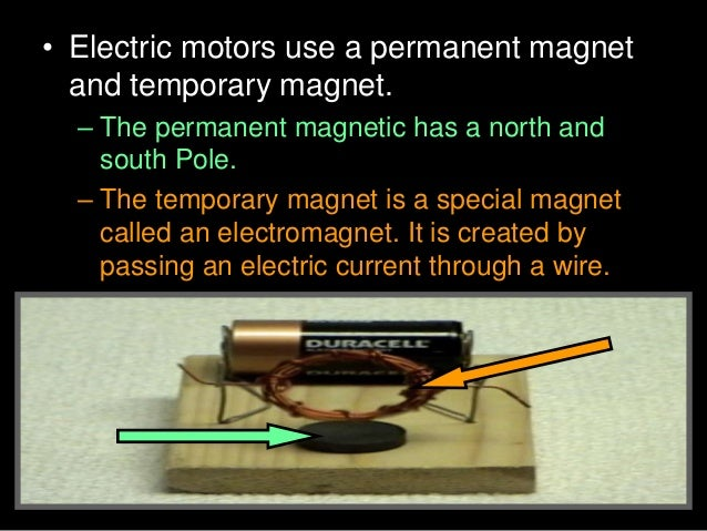 • Activity! Building a small electric engine. • B.) Strip both ends of the wire coil leads.