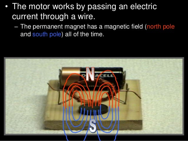"""• Activity! Building a small electric engine. • D.) Straighten the outside ends of both paper clips to form a """"P."""" Attach ..."""