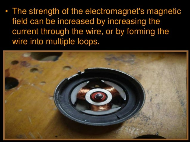 • Activity! Building a small electric engine. • G.) Connect the D-cell battery to the coil with clips. Give the coil a gen...