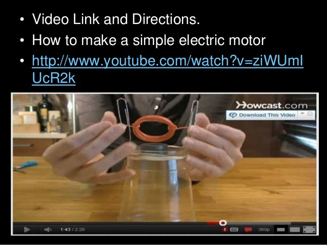 • Okay, So how does it work? Which one is correct? And the answer is… • A.) The magnetic force from the battery combined w...