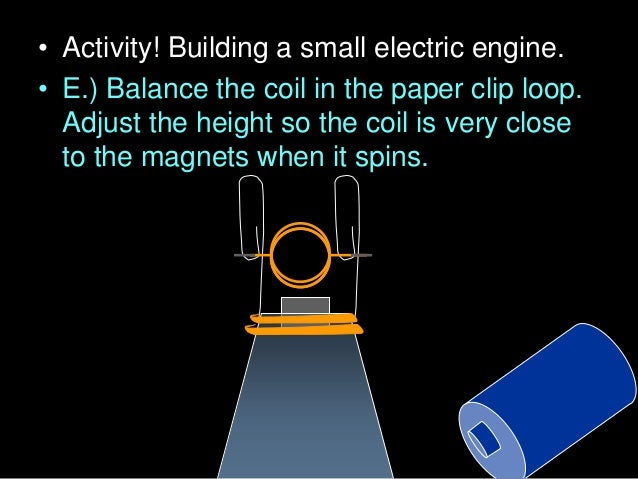  Electromagnets: By running electric current through a wire, you can create a magnetic field. Copyright © 2010 Ryan P. Mu...