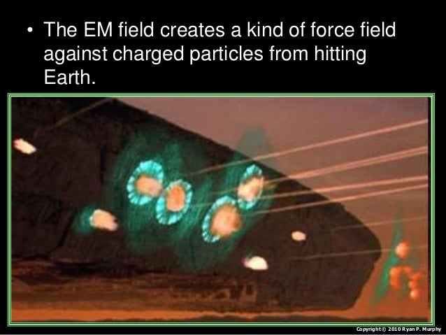 • Activity! Drawing the earth's EM Field. – Spread iron filings all around the plate. – From below, place a magnet beneath...