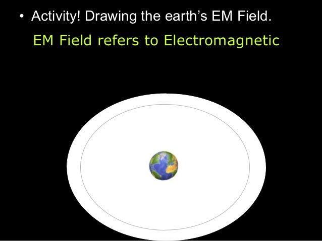 Earths EM field. Learn more: http://image.gsfc.nasa.gov/poetry/ magnetism/magnetism.html