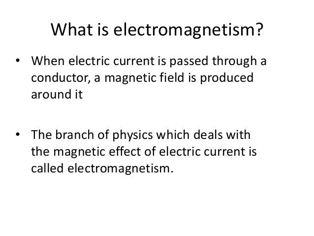 What is an electromagnet ? • An electromagnet is a solenoid with a soft iron core.