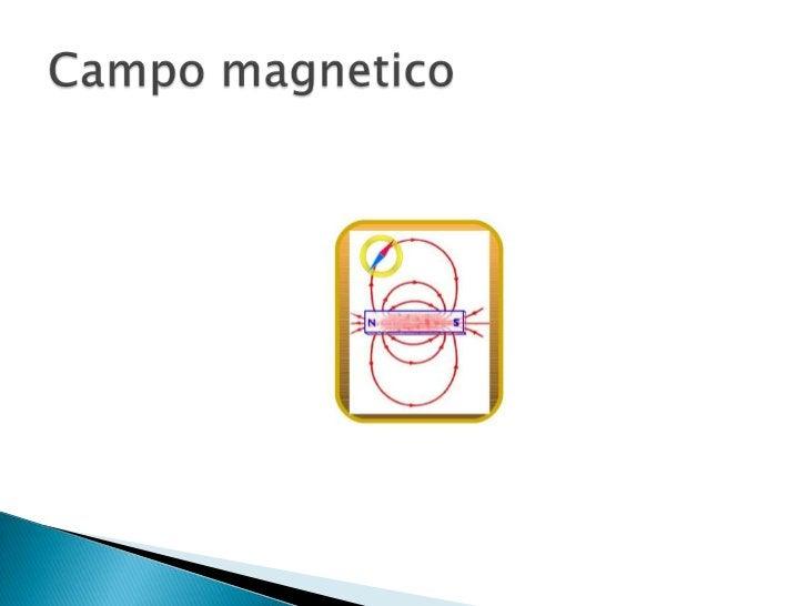 Campo magnetico<br />