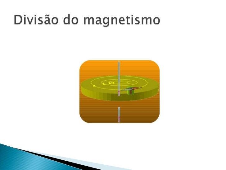 Divisão do magnetismo<br />